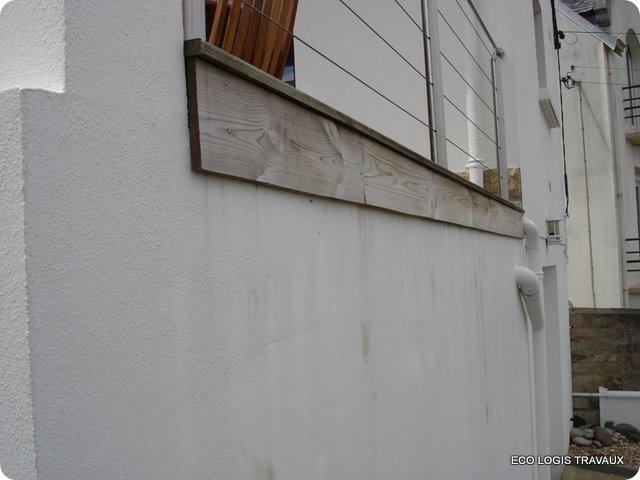 Comment prot ger un mur de l 39 eau de pluie eco logis travaux - Chambre syndicale nationale de l eau de javel ...