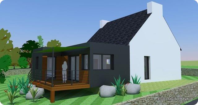 Extension Bois Sur Pilotis : Vous aussi, vous souhaitez construire une extension avec toit plat ?