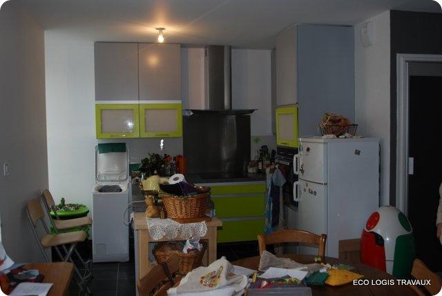 R novation compl te d 39 appartement quimper le blog eco for Cuisine quimper