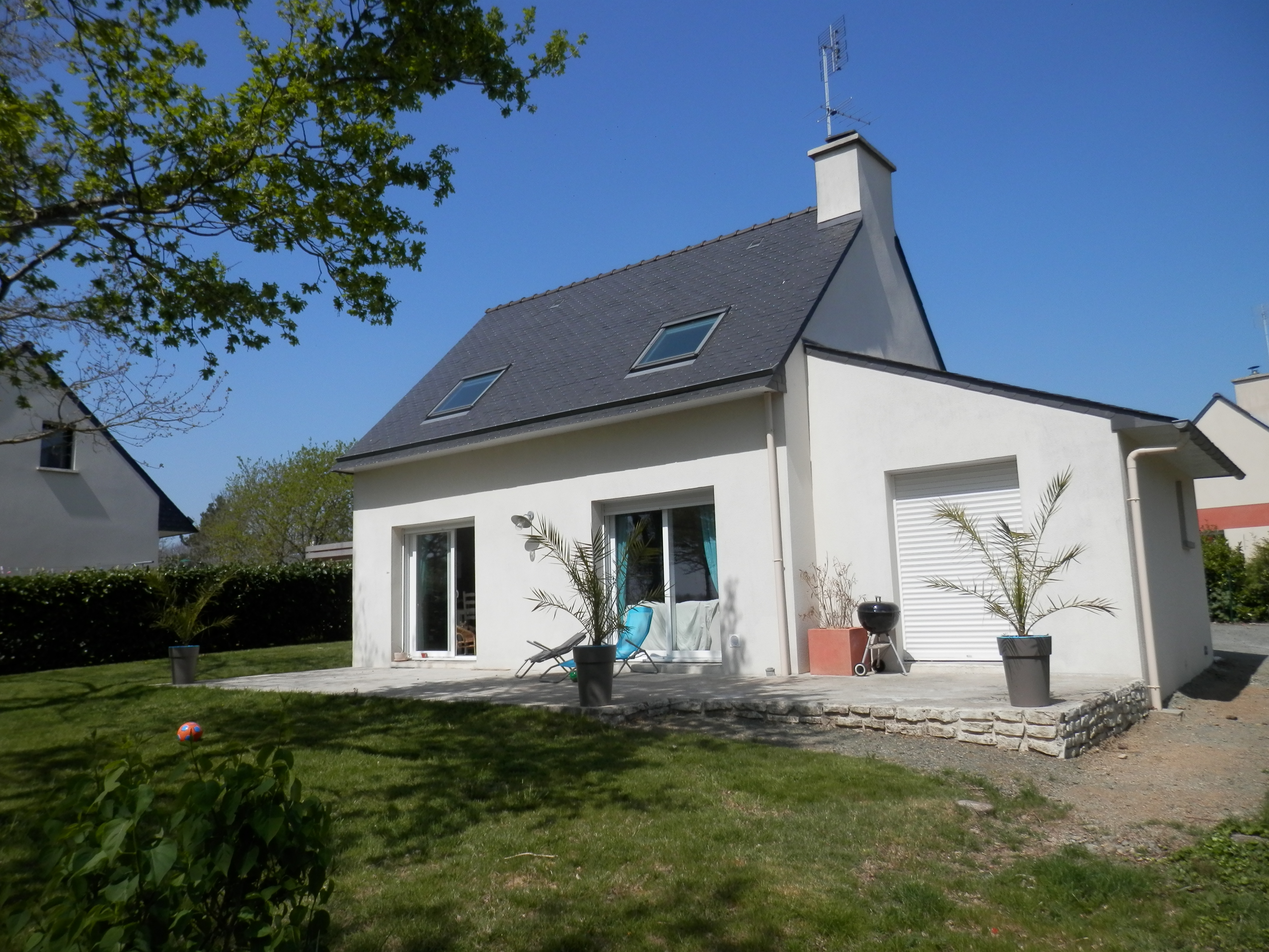maison avant travaux extension