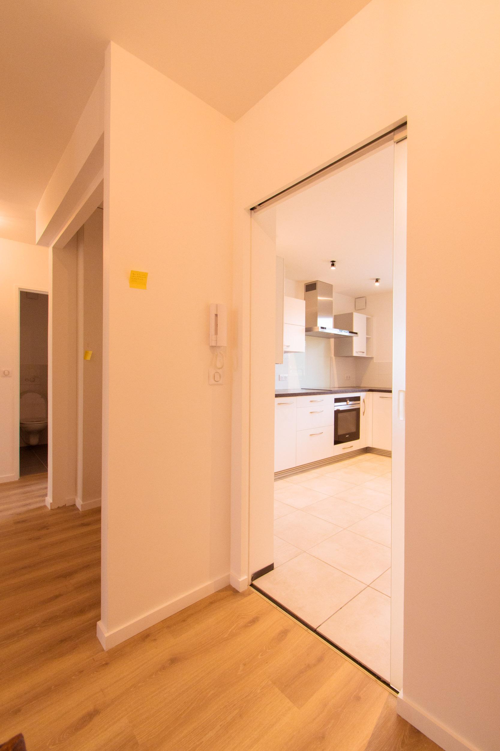 r novation compl te d 39 un appartement quimper eco logis travaux. Black Bedroom Furniture Sets. Home Design Ideas