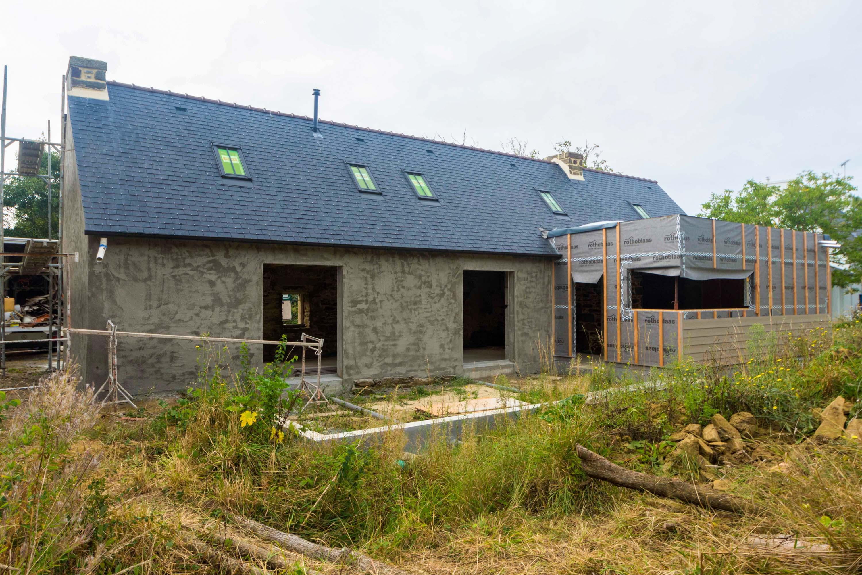 Rénovation d'une longère aux environs de Quimper - Eco ... - Renovation Longere